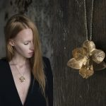 "Aija Kivi jewelry collection ""Orchid"""